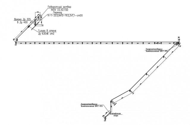 Проект паропровода